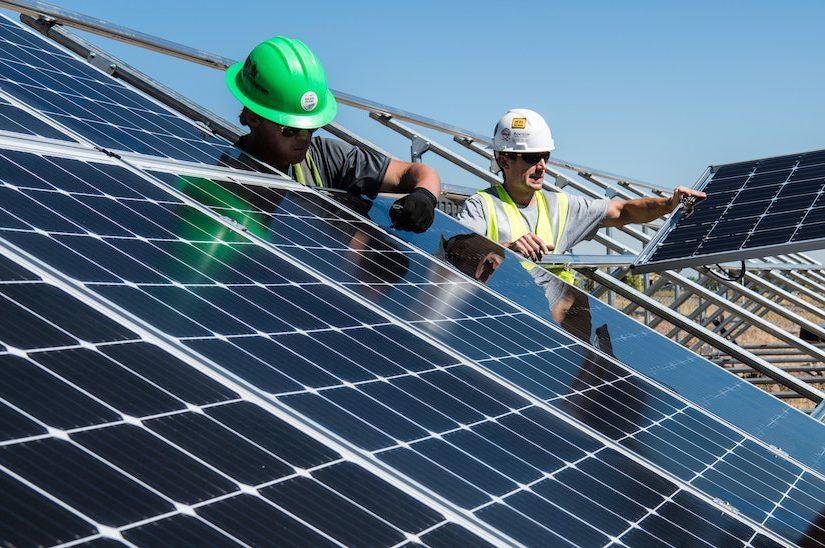 paneles solares Galletas Bandama