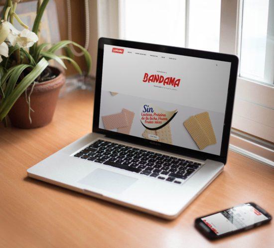 web de Galletas Bandama