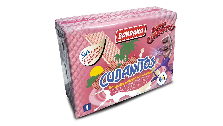 cubanito rosa Galletas Bandama