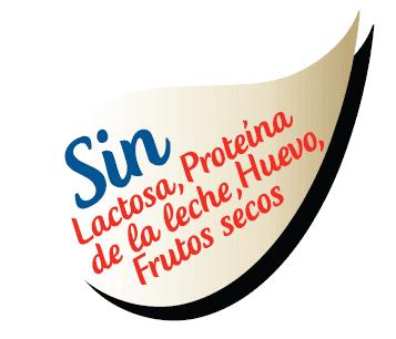 gota sin lactosa Galletas Bandama